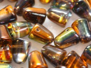 GDR-00030-95300 Crystal-Magic Copper Gumdrops 10 x 7 mm. 10 St.-0