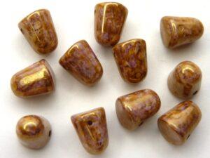 GDR-03000-15695 Gumdrops Chalk Lila Gold Luster 6 stuks-0