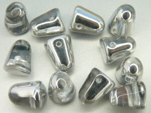 GDR-00030-27001 Crystal-Half Labrador Gumdrops 10 x 7 mm. 10 St.-0