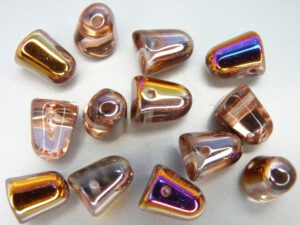 GDR-00030-29500 Crystal-Sliperit Gumdrops 10 x 7 mm. 10 St.-0