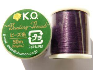 KO 07, KO draad, Dark Purple-0