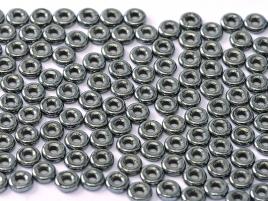 O-23980-14400 Jet Hematite O bead ® 5 gram-0