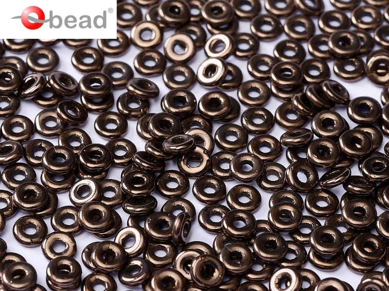 O-23980-14415 Jet Bronze O bead ® 5 gram-0
