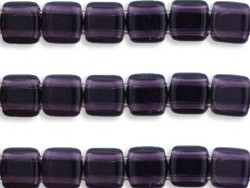 CMT-20510 CzechMates Tile Bead Tanzanite 22 st.-0