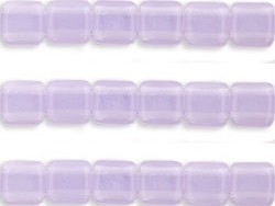 CMT-22310 CzechMates Tile Bead Milky Alexandrite 18st.-0