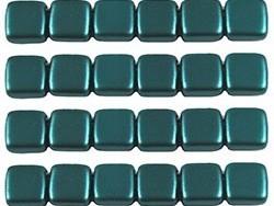CMT-25027AL CzechMates Tile Pastel Pearl Teal/Green 12 Pc-0