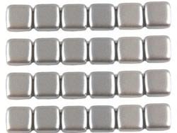CMT-25028AL CzechMates Tile Pastel Pearl Silver 12 Pc.-0