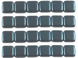 CMT-25033AL CzechMates Tile Pastel Pearl Dark Tuquoise 12 -0