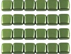 CMT-25034AL CzechMates Tile Pastel Pearl Olive Green 12 Pc-0