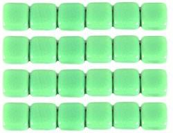 CMT-53200 CzechMates Tile Opaque Olivine 20 Pc.-0