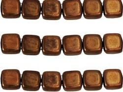 CMT-23980LZ CzechMates Tile Bead Dark Bronze 14 st.-0