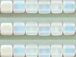 CMT-00030-M-28701 CzechMate Tiles Matte CrystalAB 20 stuks-0
