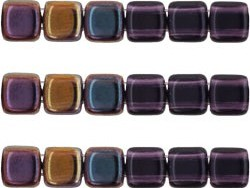 CMT-20510W CzechMates Tile Bead Twilight - Tanzanite 18 st.-0