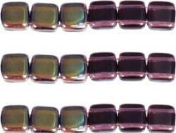 CMT-20510Z CzechMates Tile Bead: Celsian - Tanzanite 18 st.-0