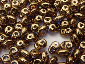 SD-00030-90215 Crystal 24 krt.Gold-Bronze. 10 gram-0