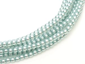 03-132-19001-10110 Shiny Baby Blue Glass Pearl 150 Pc.-0