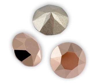 001 ROGL Crystal Rose Gold Xirius Swarovski SS 39. 2 stuks-0