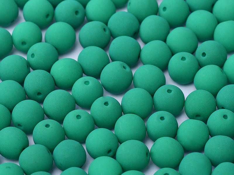 03-R-25128 Neon Dark Emerald 3 mm. 100 Pc.-0