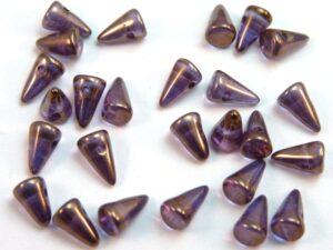 SP-5x8-00030-14415 Crystal Bronze Luster 25 stuks-0