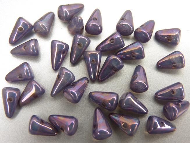 SP-5x8-01000-15781 White Opal met Purple Iris Luster. 20 stuks-0
