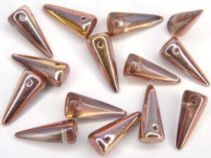 SP-7x17-00030-01000-27101 Crystal met Opal en Capri Gold 14 st.-0