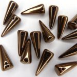 SP-7×17-23980-14415 Jet Dark Copper Spikes 10 stuks-0