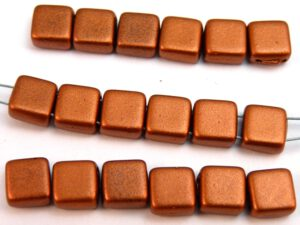 TH-23980-01750 2Hole Square, Jet Silky Copper 20 stuks-0