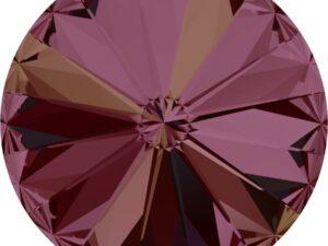 14 mm. 001-LISH Crystal Lilac Shadow 1122 Swarovski Rivoli-0