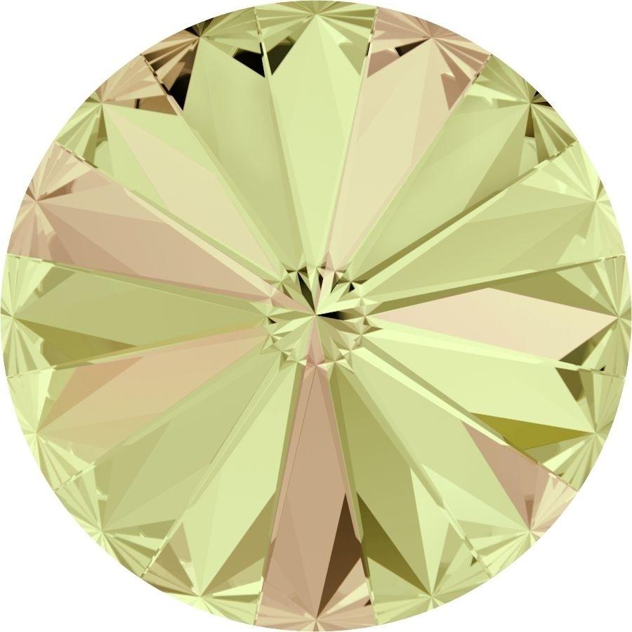 SW-R-14-LUMG Crystal Luminous Green 1122 Swarovski Rivoli-0