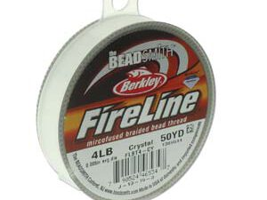 FL04CR50 Fireline Crystal Clear 4 LB. 0.12 mm. 45 meter-0