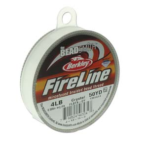 FL04CR50 Fireline Crystal Clear 4 LB. 0.12 mm. 45 meter-0