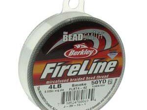 FL04SG50 Fireline Smoke Grey, 4 LB Size B. 0.12 mm. 45 meter-0