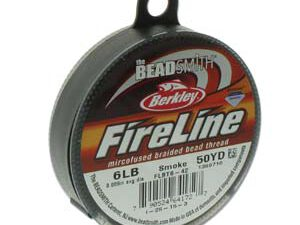 FL06SG50 Fireline Smoke Grey. 6 LB 0.15 mm. 45 meter-0