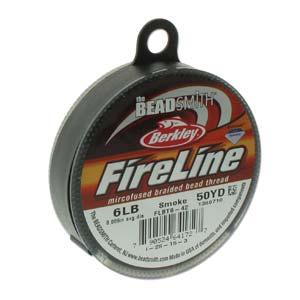 FL06SG50 Fireline Smoke Grey. 6 LB 0.15 mm. 45 meter-0