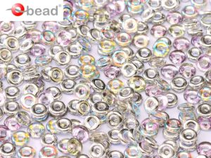 O-00030-98530 Crystal Silver Rainbow O bead ® 5 gram-0