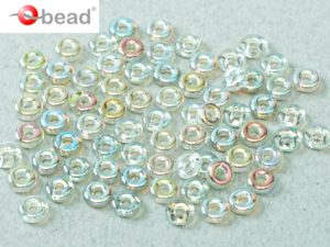 O-00030-98539 Crystal Green Rainbow O bead ® 5 gram-0