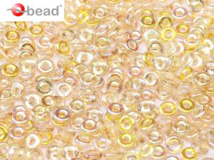 O-00030-98534 Crystal Lemon Rainbow O bead ® 5 gram-0