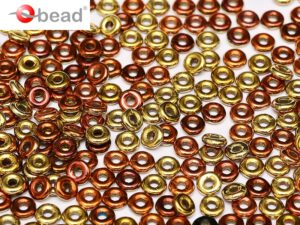 O-23980-98542 Jet California Goldrush O bead ® 5 gram.-0