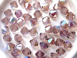06-MC-20020-28701 Bicones Light Amethyst AB 6 mm. 24 Pc.-0