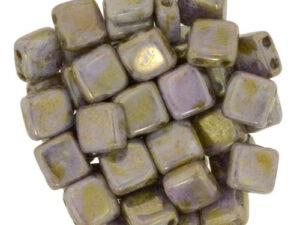CMT-02010LG Tile Luster Opaque Gold/Alabaster 18 st.-0