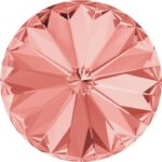 14 mm. 262 Rose Peach 1122 Swarovski Rivoli-0