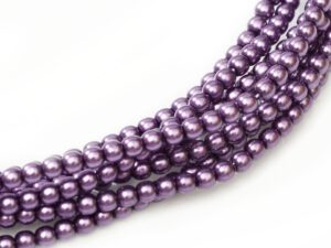 08-132-70429 Violet Glass Pearl 16 Pc.-0