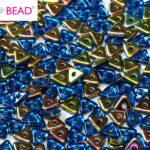 TRI-30070-28101 Sapphire Vitrail Tri-Beads 5 gram-0