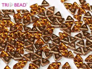 TRI-10060-27101 Topaz Capri Gold Tri-bead. 5 gram-0