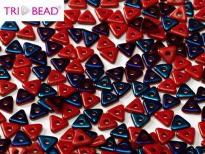 TRI-93200-22201 Opaque Red Azuro Tri-Beads 5 gram-0
