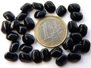 0010014 Zwart dikkere kleine wyber vorm. 30 Pc.-0