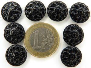0010049 Zwarte ronde bloemvormige 2 gats verdeler-0