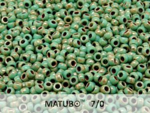 MTB-07-63130-43400 MATUBO™ Opaque Green Turquoise Silver Picasso-0