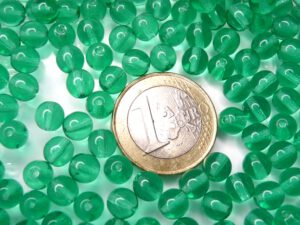 0100054 Light Emerald 6 mm. 40 Pc.-0