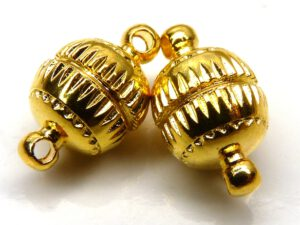 0170004 Magneetslotje Gold Coated 14 x 8 mm.-0